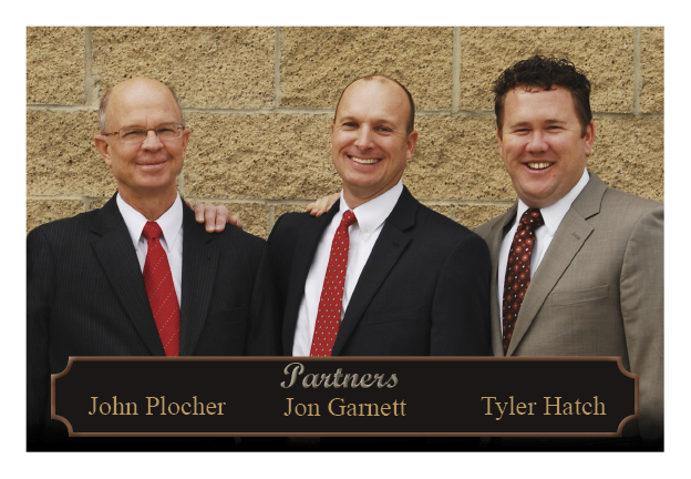 Photo of partners, John Plocher, Jon Garnet, Tyler Hatch
